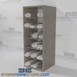 Poster Holder Stand by Rolled Construction Architectural Drawing Shelving