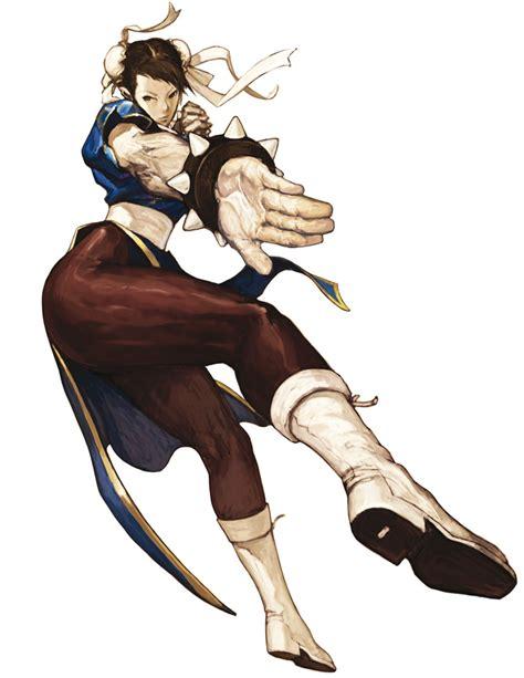Chun Li From The Street Fighter Series