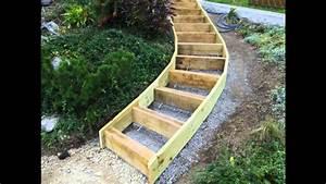 Construire Un Escalier Extérieur : construire un escalier exterieur en beton ~ Melissatoandfro.com Idées de Décoration
