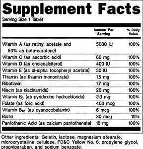 anh usa submits formal comments on fdas latest attempt to With supplement facts template