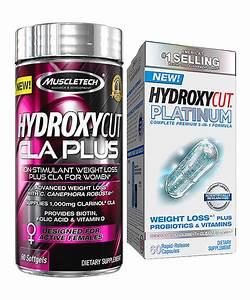 Hydroxycut Platinum Supplement  U0026 Cla Plus Supplement Set