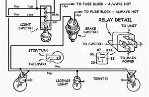 Diagram  Hot Rod Turn Signal Wiring Diagram Full Version