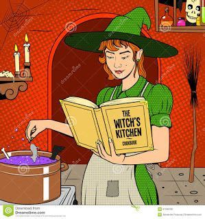 preppering witch time   halloween coloring book