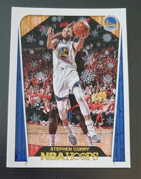 Check spelling or type a new query. Stephen Curry 2018-19 NBA Hoops HT Winter Base Card