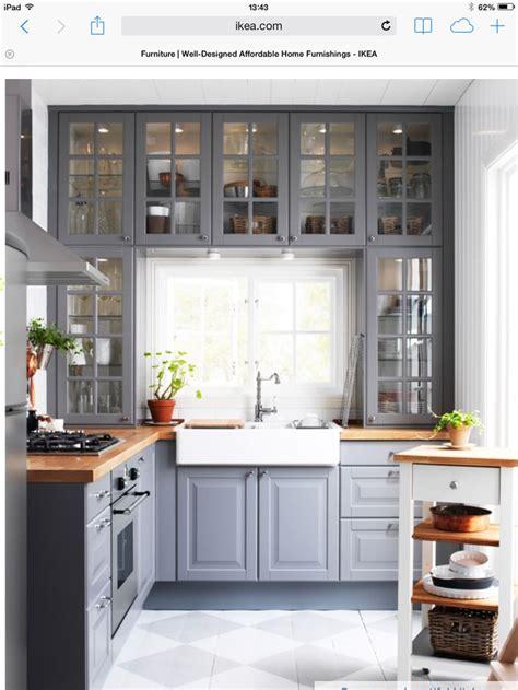 Ikea grey kitchen - love the kitchen