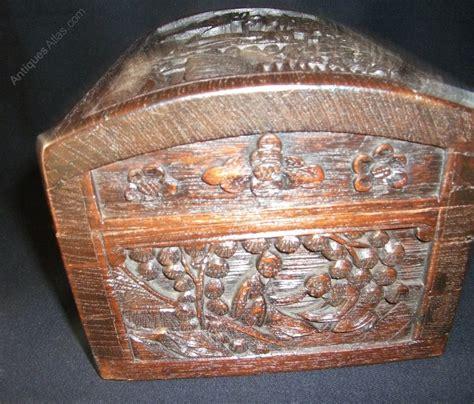 antiques atlas antique carved box