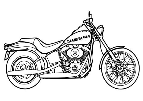 Kleurplaat Mc 2 by Coloring Page Motorcycle Img 26354 Images