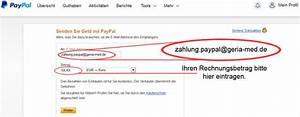 Rechnung Paypal De : geria med ihr inkontinenzversorger in und um berlin ~ Themetempest.com Abrechnung