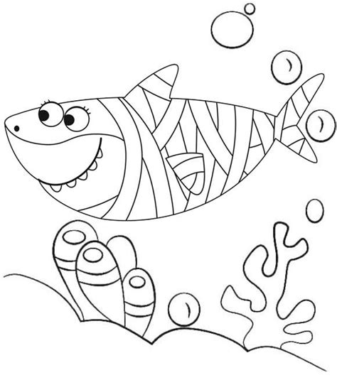 12 Best Baby Shark Pinkfong Coloring Sheets for Children