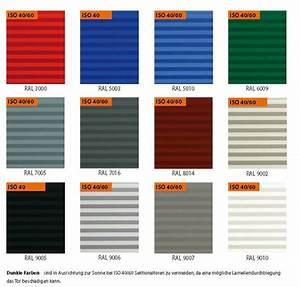Ncs Farben Ral Farben Umrechnen : farbpalette iso sektionaltor tortechnik cad und service ~ Frokenaadalensverden.com Haus und Dekorationen