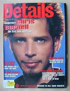 Details Magazine December 1996 Chris Cornell Cover