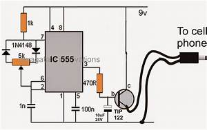 Simple Pwm Controlled Dc To Dc Cell Phone Charger Circuit