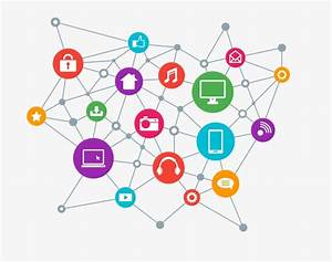 Internet icon, Connection, Molecular, Point PNG and Vector ...