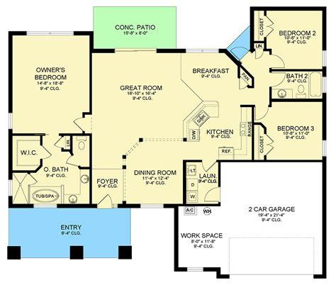 ranch house floor plans open concept house design ideas