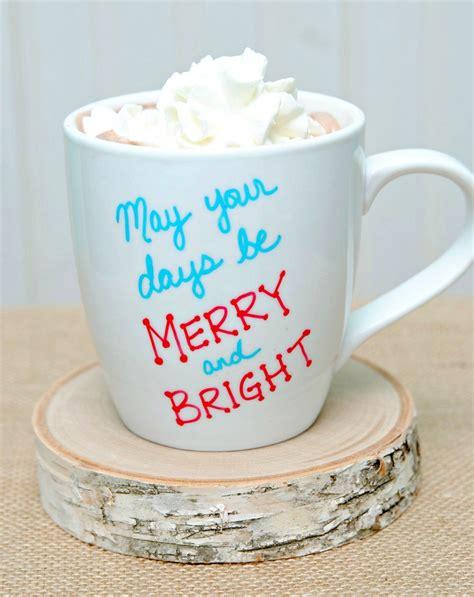 15 Minute Holiday Sharpie Mugs