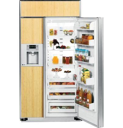 ge profile psbygxsv profile series side  side refrigerator   cu ft capacity