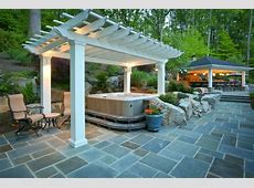 Installing Patios For Hot Tubs Which Are Ideal In The