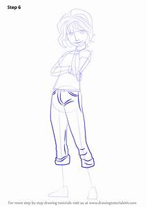 Learn How To Draw Aunt Cass From Big Hero 6 Big Hero 6