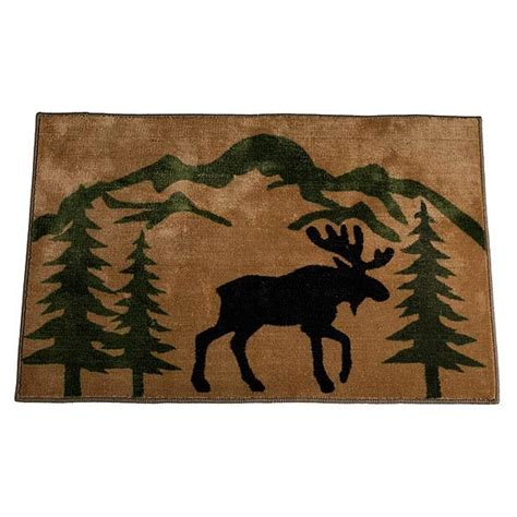 Taking Care Of Business Bathroom Rug: Cabin Place