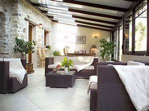 deco pour une veranda With idee deco jardin terrasse 3 idee deco entree peinture