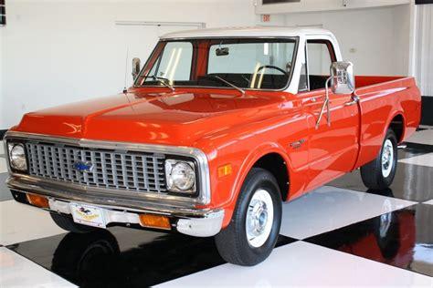 1971 Chevrolet Custom 10 Deluxe Shortbed Pickup Truck