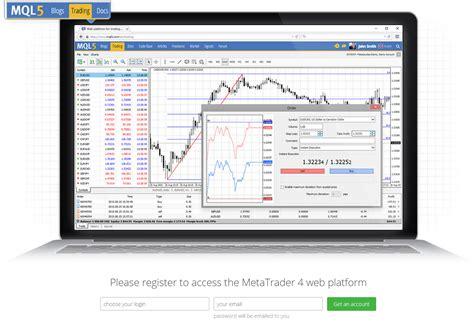 mt4 web platform metatrader releases mt4 web platform