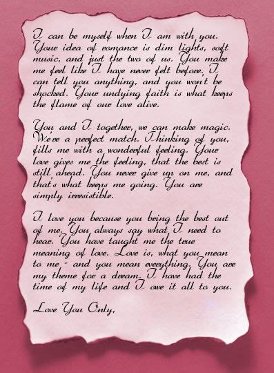 valentines day love letter ideas valentines day love