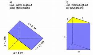 Prisma Volumen Berechnen : netz und oberfl che landesbildungsserver baden w rttemberg ~ Themetempest.com Abrechnung