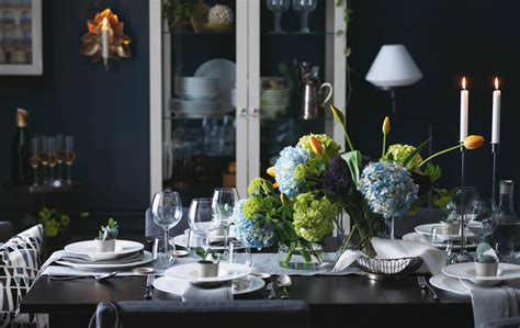 ikea table decorations how to dress your table to impress