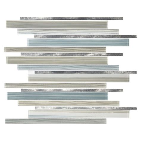 american olean glass tile backsplash american olean quicksilver mixed material glass and metal