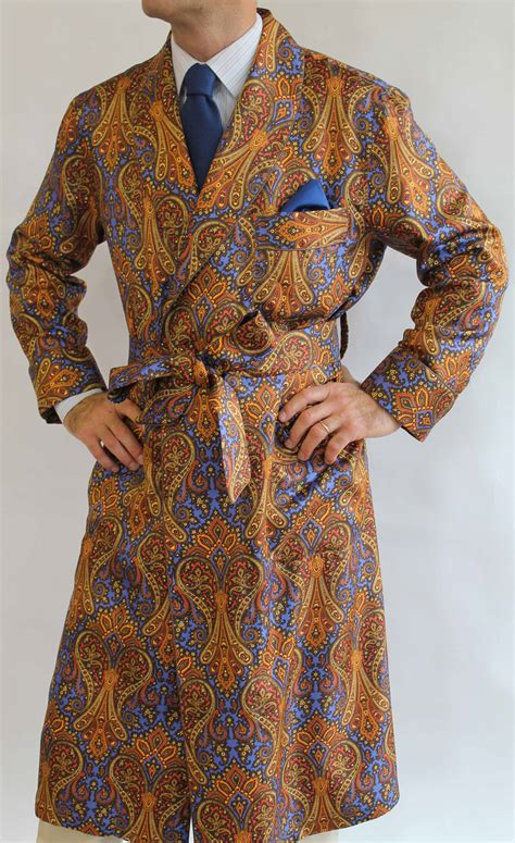 robe de chambre arthur robe de chambre classique pour homme en 100 soie twill