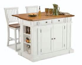 island for kitchen with stools compact set home styles kitchen island two bar stools home design garden architecture