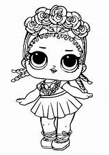 Lol Coloring Surprise Doll Dolls Pages Sheets Printable sketch template