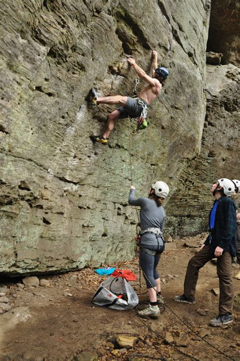 red river gorge st lawrence university outdoor program