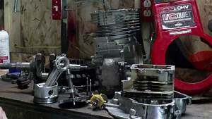 Briggs And Stratton 14 5 Hp Ohv Reassembly  Then I