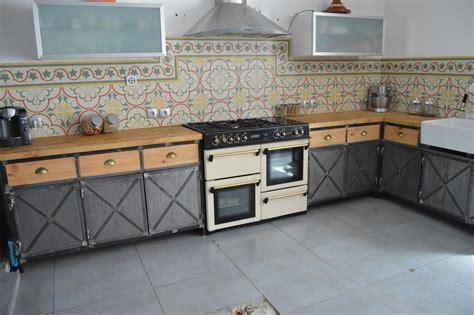 meubles cuisine vintage beautiful cuisine industriel vintage gallery design