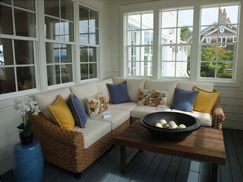 small enclosed front porch ideas for classic decoration