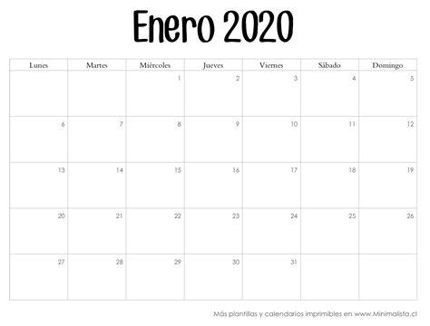 calendario por semanas