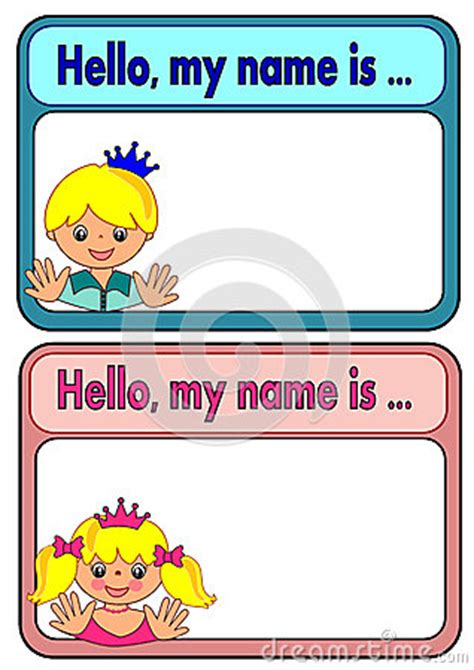 tags  kids stock vector image
