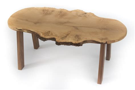 Same day delivery 7 days a week £3.95, or fast store collection. Small Burr Oak Live Edge Coffee Table | Bespoke Fine Furniture