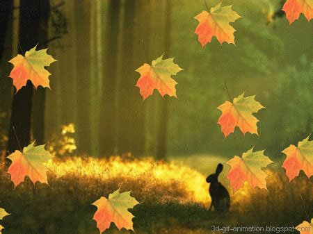 3d Falling Leaves Animated Wallpaper - 3d gif animations free i you images photo