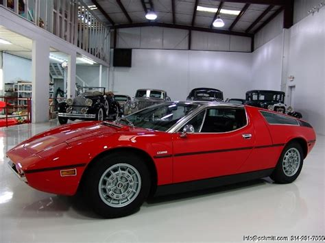 vintage maserati for sale car of the day classic car for sale 1973 maserati bora