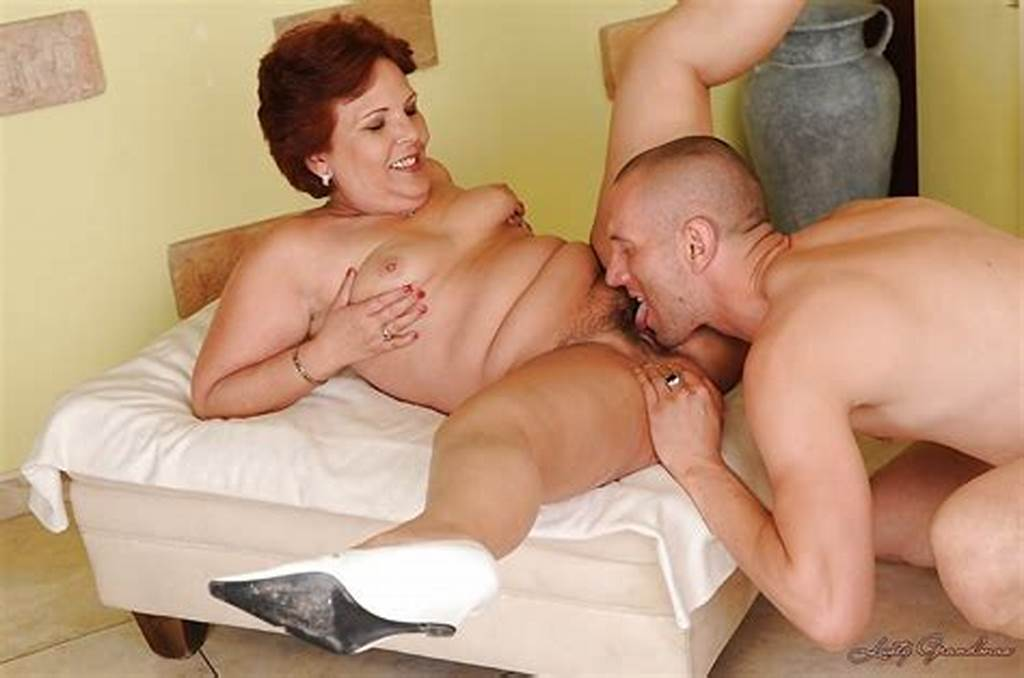 #Salacious #Granny #Fucks #A #Younger #Lad #And #Gets #Her #Bush