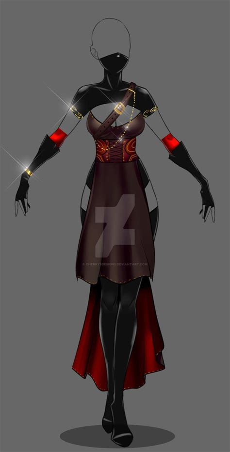 (closed) Auction Adopt - Outfit 246 by CherrysDesigns on DeviantArt | Digital Designs ...