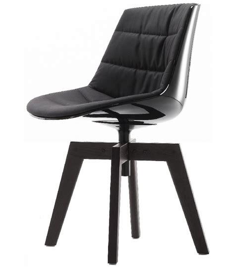 Mdf Italia Flow Chair by Flow Chair Padded With 4 Legged Oak Mdf Italia Milia Shop