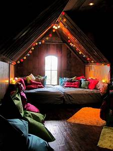 usher, in, early, festivities, , awesome, eclectic, bedrooms, with, string, lights