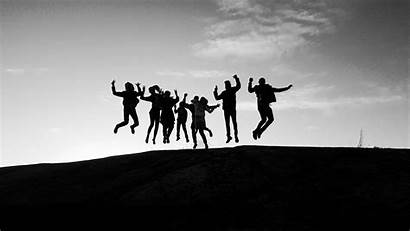 Happiness Friends Happy Jump Making Self Better