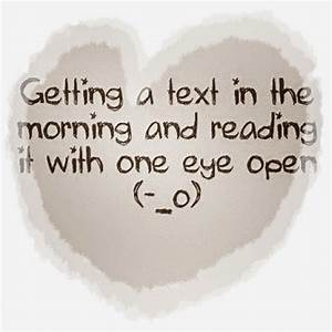Image Gallery morning quotes cute love