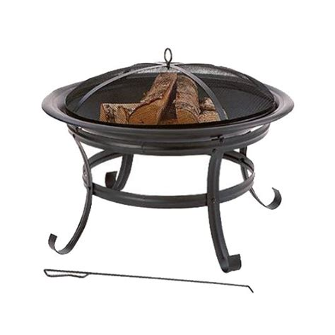 four seasons courtyard 30 inch round fire pit outdoor