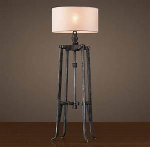 Belgian Industrial Mixer Floor Lamp Dwellings Pinterest